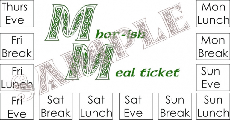 Mhorish meal ticket sample